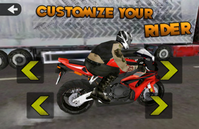 Racing games: download Highway Rider to your phone