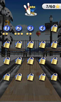 Multiplayer iShuffle Bowling 2 für das Smartphone