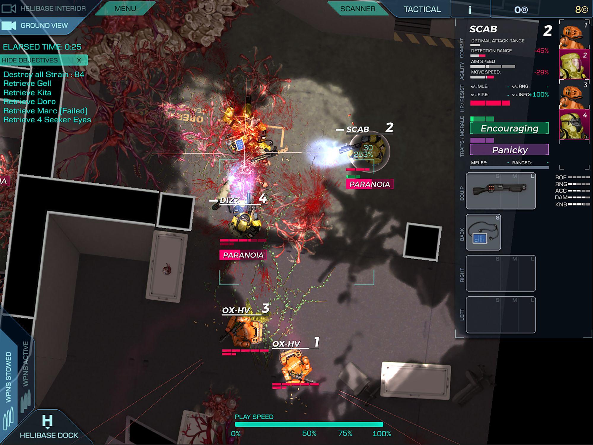 Strain Tactics capture d'écran 1