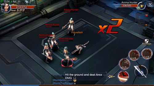 Alita: Battle angel. The game für Android