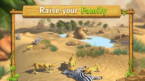 Cheetah family sim для Android