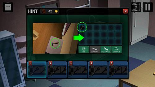 Abenteuer-Spiele 13 puzzle rooms: Escape game für das Smartphone