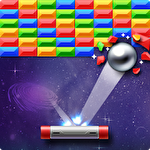 Иконка Brick breaker star: Space king