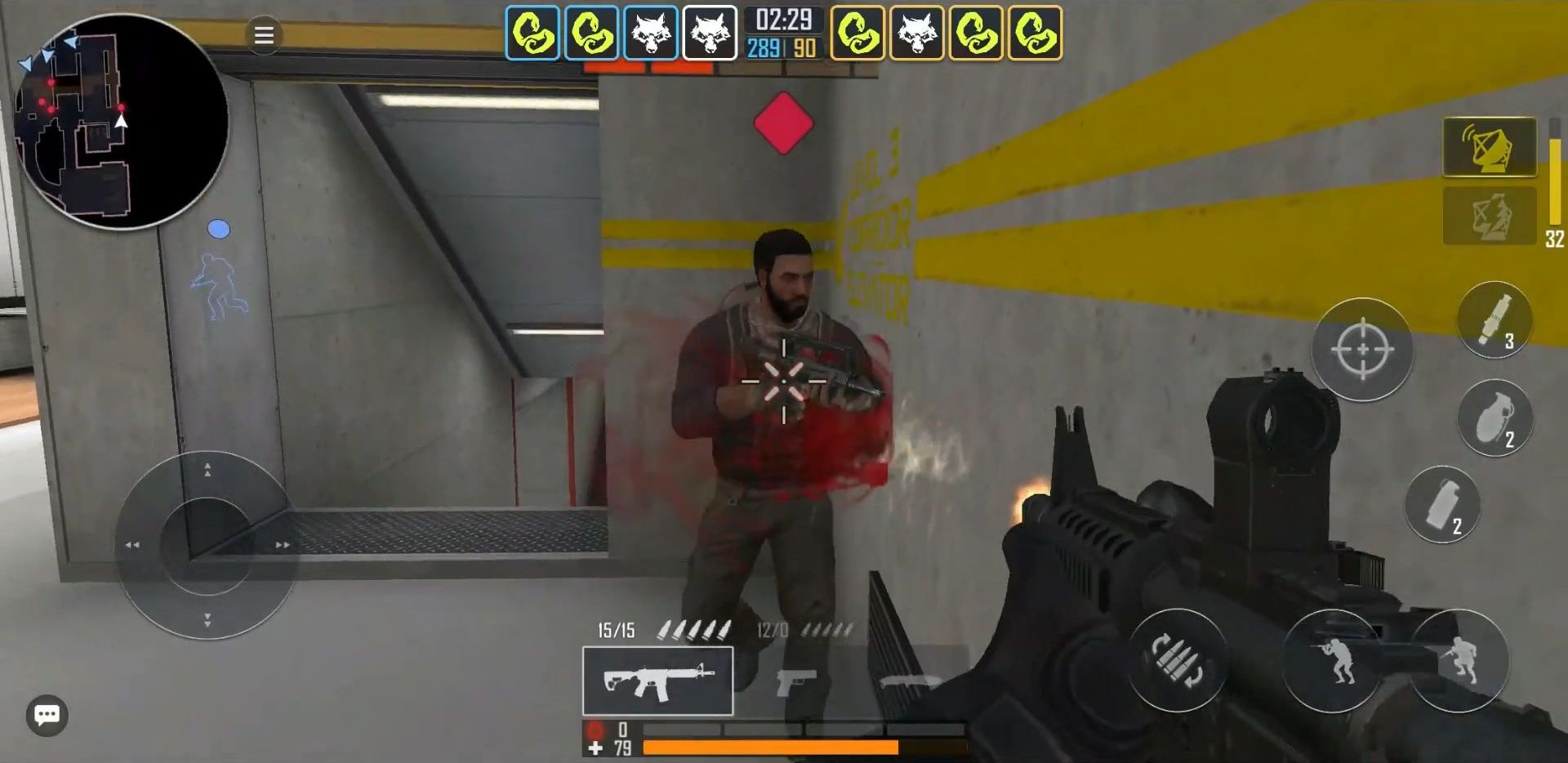 Fire Strike Online: Стрелялки - Free FPS шутер скриншот 1
