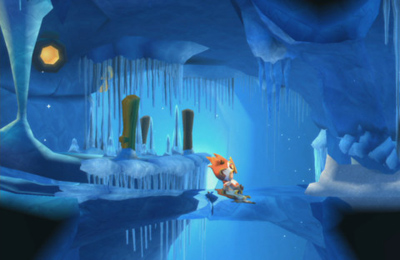 Screenshot Verlorene Winde 2: Winter in Melodias auf dem iPhone