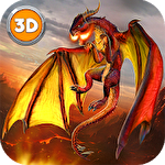 Иконка Dragon fantasy war survival 3D