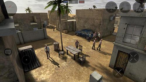 Zombie combat simulator für Android