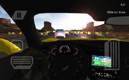 Racing games Voyage: USA roads for smartphone
