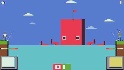Arcade-Spiele Battle golf für das Smartphone