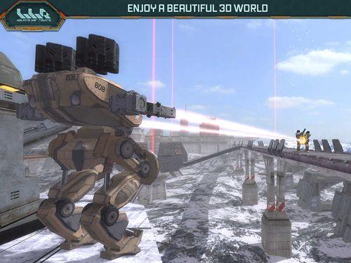 Actionspiele: Lade Kriegsroboter auf dein Handy herunter