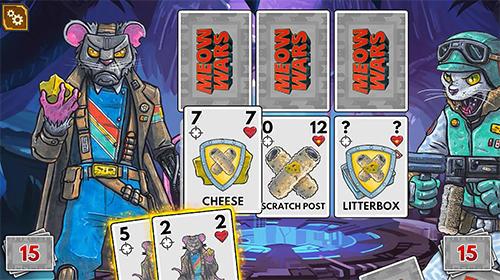 Meow wars: Card battle auf Deutsch