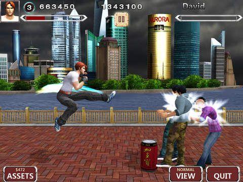 Arcade-Spiele: Lade Kämpferlegende Pro auf dein Handy herunter