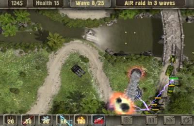 Скріншот Defense zone HD на iPhone