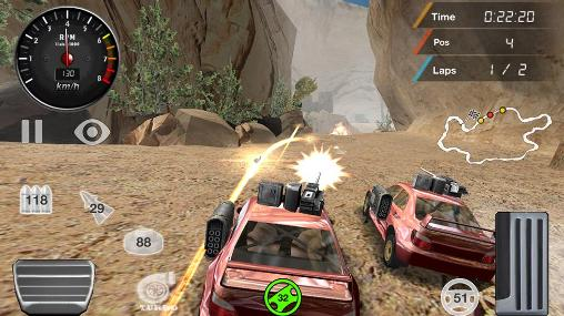 Armored off-road racing für Android