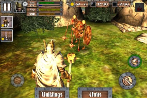 Heroes and castles para Android