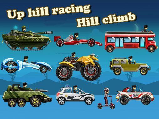 Up hill racing: Hill climb icône