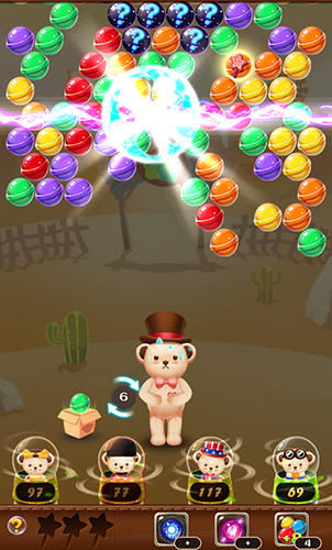 Teddy pop: Bubble shooter für Android