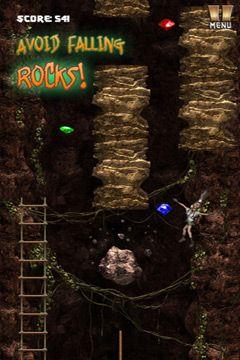 Screenshot Flucht aus der Höhle auf dem iPhone