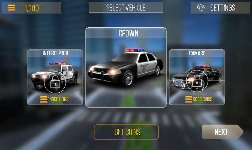 Rennspiele Cop duty: Simulator 3D für das Smartphone