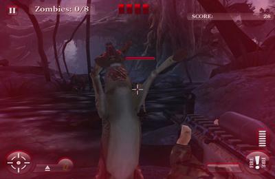 Cazadores de ciervos: zombies