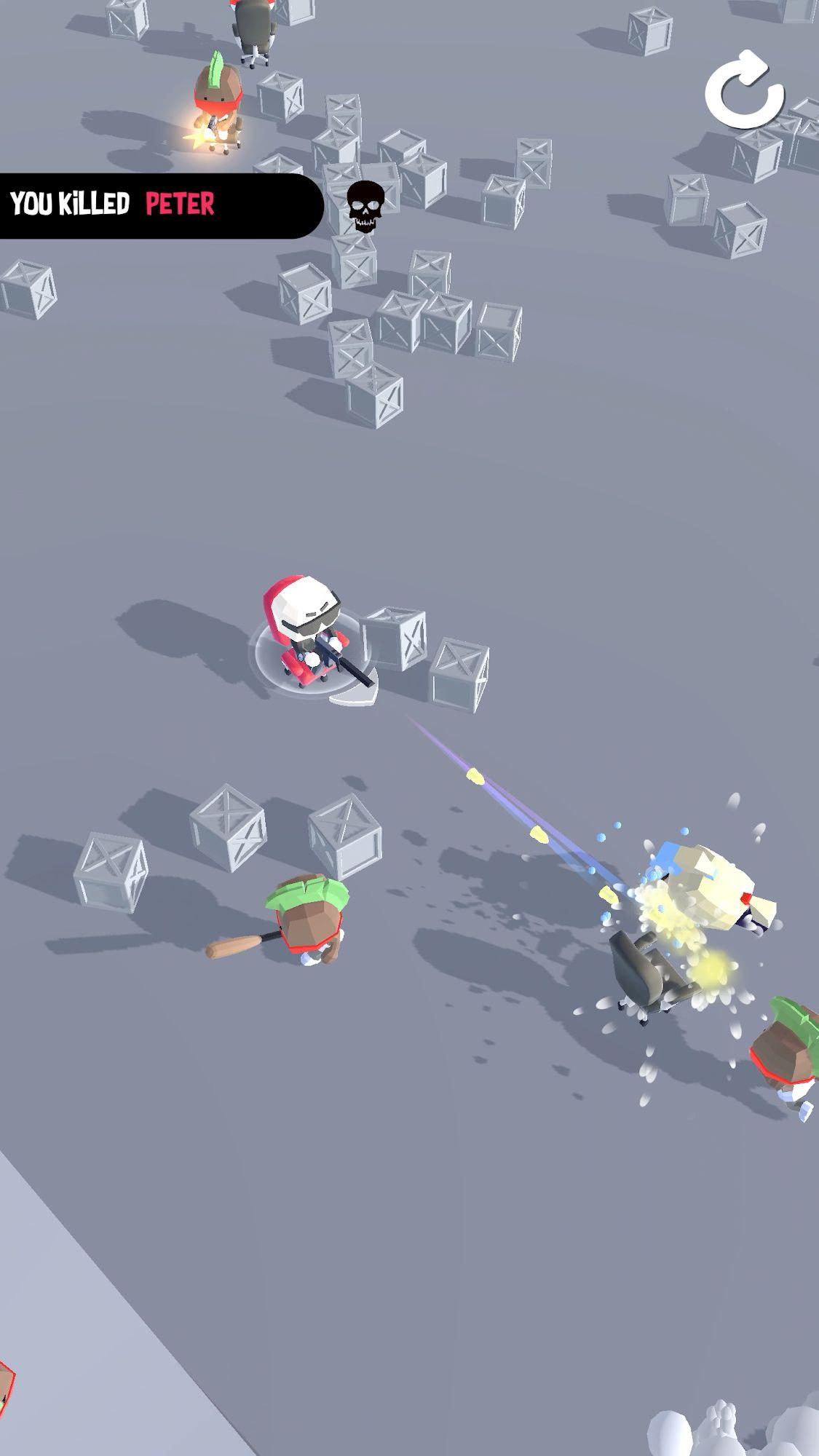 Gun Chair captura de pantalla 1