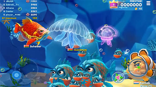 Fish now: Online io game and PvP battle для Android