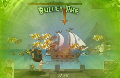 Screenshot Piraten : Belagerung mit Kanonen auf dem iPhone