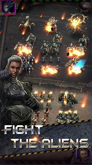 在线策略 The ruins: Alien invasion英语