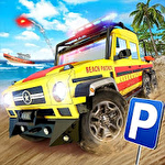 Coast guard: Beach rescue team Symbol