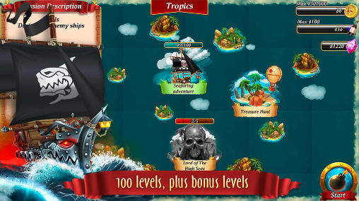 Pirate battles: Corsairs bay screenshot 1