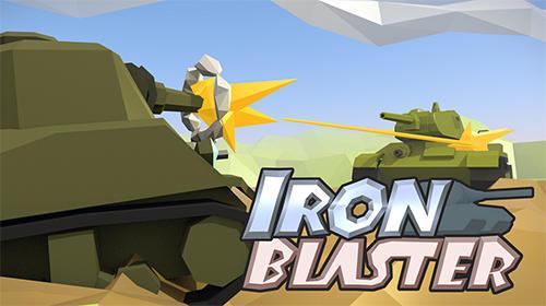 Iron blaster: Online tank captura de pantalla 1