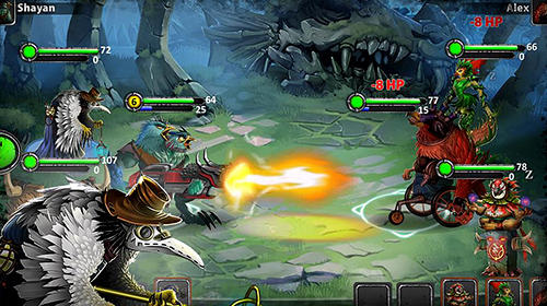 Capturas de tela de Spirit wars: Online turn-based RPG