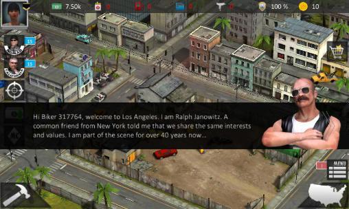 Onlinespiele Bloody roads: California für das Smartphone