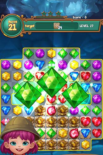 Jewels fantasy: Match 3 puzzle скриншот 4
