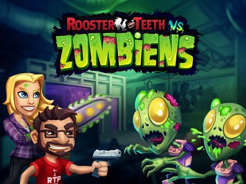 logo Rooster Teeth vs. Zombies