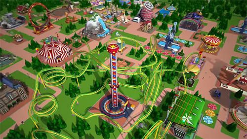 Roller Coaster: Tycoon Touch auf Deutsch