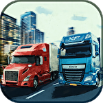 Virtual truck manager: Tycoon trucking company icon