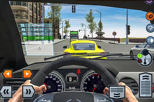 Car driving school simulator for iPhone
