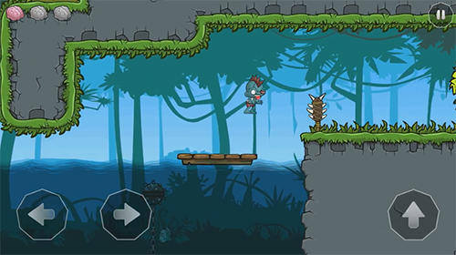 Hard to be a zombie: Brain quest! Screenshot