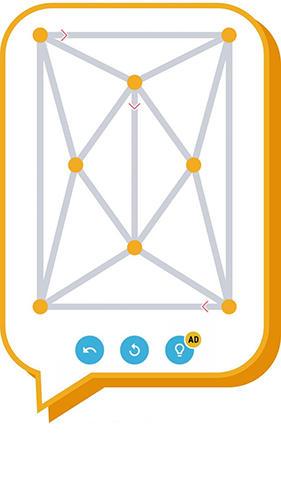 Juegos de lógica Draw 1 stroke para teléfono inteligente