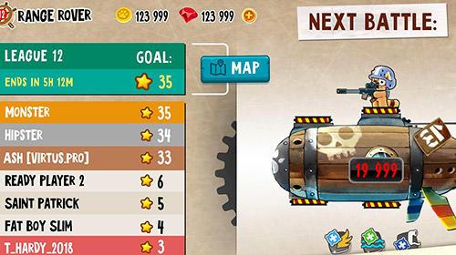 Juegos con multijugador Cats vs pigs: Battle arena para teléfono inteligente