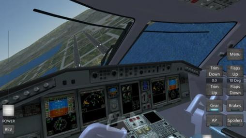 Screenshot Der unendliche Flug - Flugsimulator auf dem iPhone