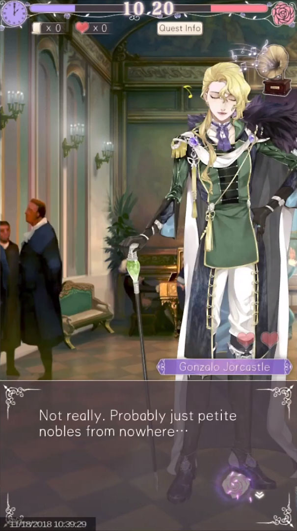 Helix Waltz - Dress Up Drama captura de pantalla 1