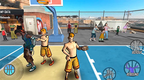 Street wars: Basketball captura de tela 1