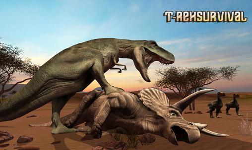 T-Rex survival simulator screenshot 1