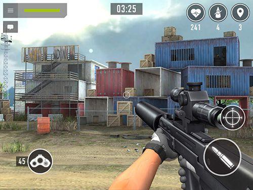 Simulation: Lade Sniper Arena auf dein Handy herunter