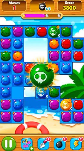 3 Gewinnt Candy monsters match 3 auf Deutsch