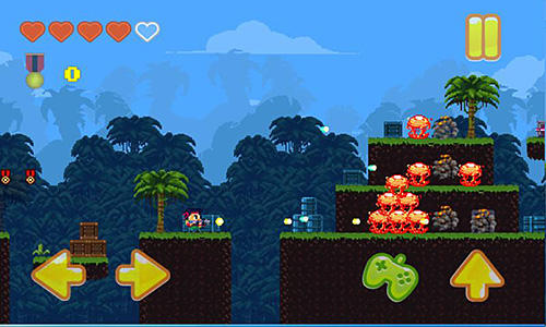 The fury in the jungle для Android