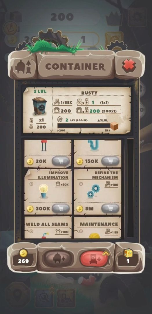 Trash Tycoon: idle clicker captura de pantalla 1
