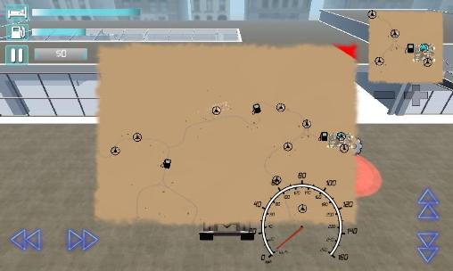 Truck driver 3D: Extreme roads für Android